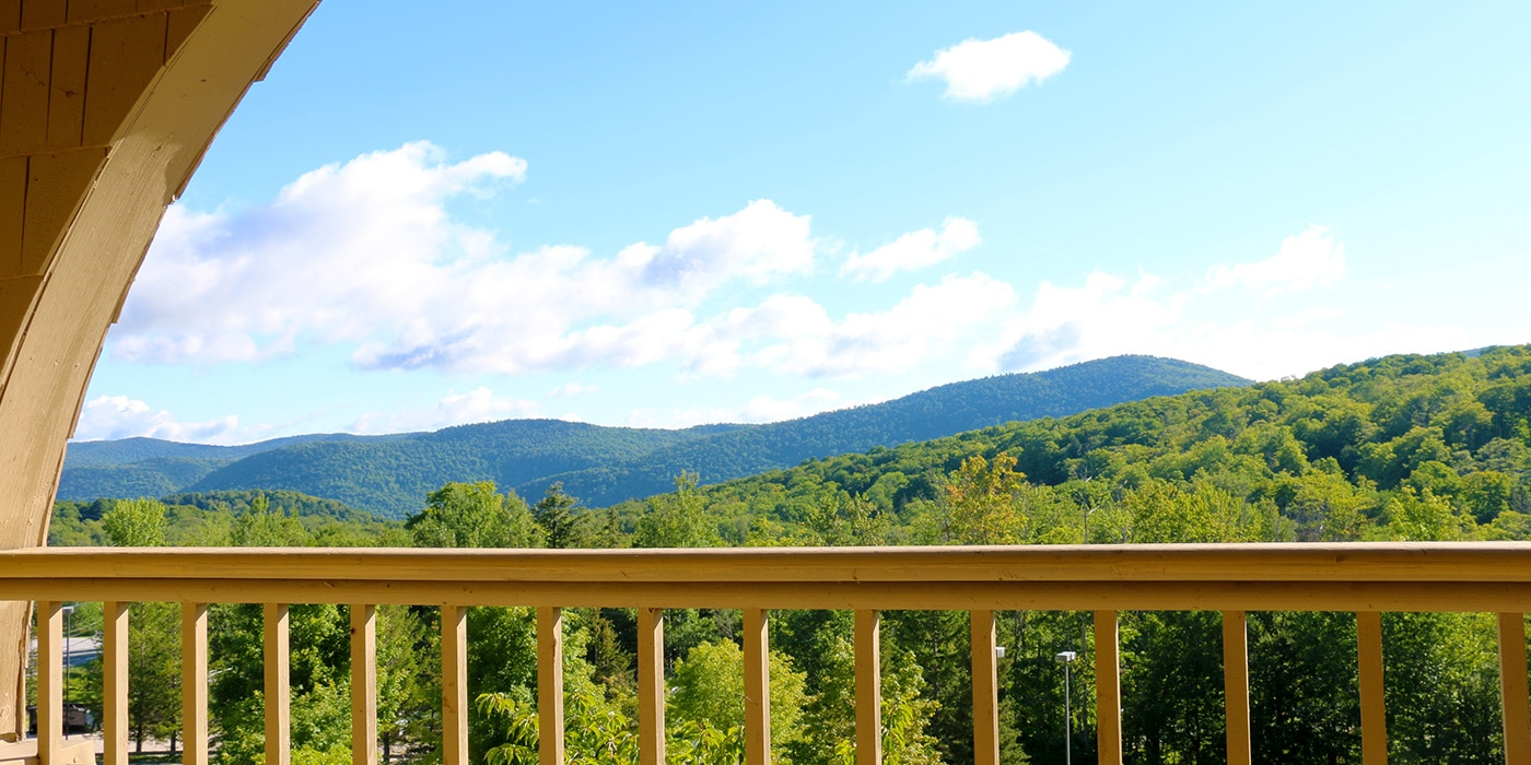 Killington Mountain Lodge Killington VT Balcony View